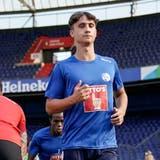 FCL-Spieler Noah Rupp beim Einwärmen. (Martin Meienberger / Freshfocus (Rotterdam, 11. August 2021))
