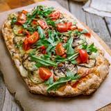 Allein der Teig macht den Unterschied zur Pizza aus. (Bild: Shutterstock)