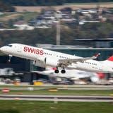 Es geht wieder aufwärts bei der Swiss und ihrer Mutter Lufthansa. (Christian Merz / KEYSTONE)