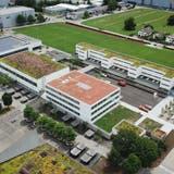 Der Ergänzungsbau bei der Schulanlage Steinli ist fertig und wurde zu Beginn des Schuljahres bezogen. (Marius Fricker/Zvg / Aargauer Zeitung)