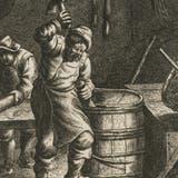 Die Fischer am Bodensee entschieden im Mittelalter gemeinsam, wie sie die Fischbestände nachhaltig schützten. (Bild: ETH-Bibliothek)