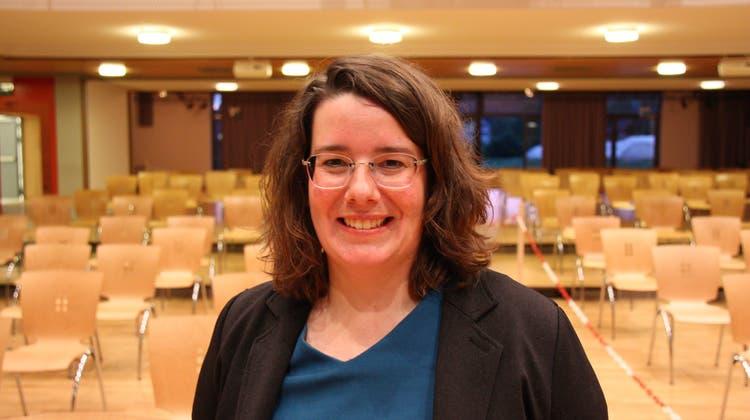 Jeanine Glarner, Frau Gemeindeammann Möriken-Wildegg, hat keine Konkurrenz. (Markus Christen)