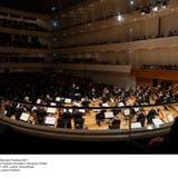 Das Lucerne Festival Orchestra beim Eröffnungskonzert des Lucerne Festival im KKL. (Bild: PD/Priska Ketterer/ Lucerne Festival (Luzern, 13. August 2021))