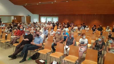 In Herznach nahmen 89 der 1048 Stimmberechtigten teil. (Dennis Kalt / Aargauer Zeitung)