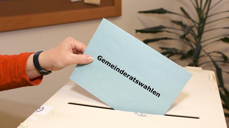 Am Sonntag, 26. September, findet in den meisten Gemeinden der erste Wahlgang statt. (Keystone)