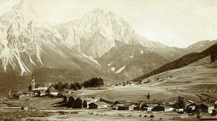 Eine Ansicht von Lermoos aus dem Jahr 1896. (zvg)