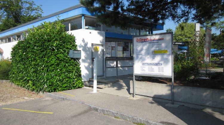 Badi-Eingang in Büren a. A. (Daniela Deck)