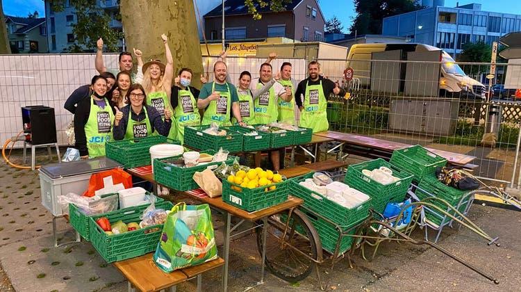 JCI Olten und Wiggertal helfen gegen Foodwaste am Streetfoodfestival in Olten