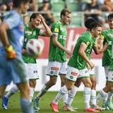 Fünf Tore gegen Münsingen: Der FC St.Gallenkehrt im Cup auf die Siegesstrasse zurück