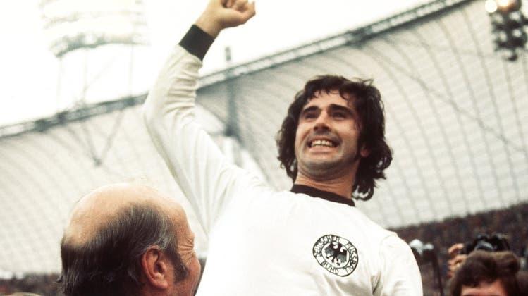 Gerd Müller wurde 75 Jahre alt. (Keystone)