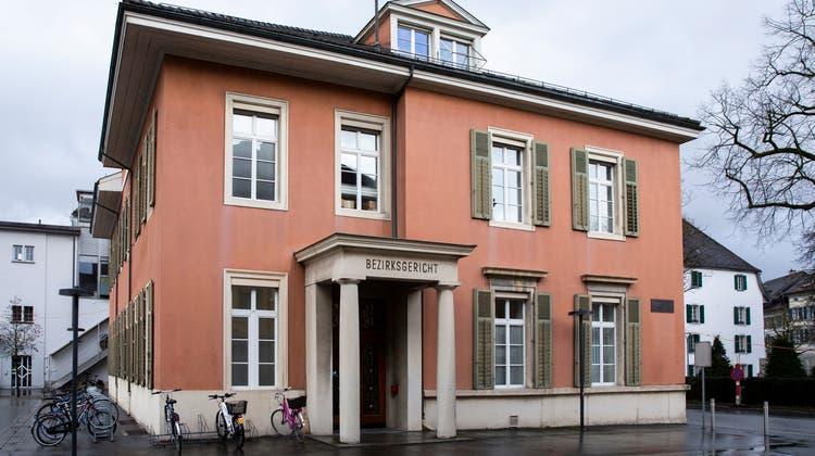 Das Bezirksgericht Aarau, 19. Februar 2020. (Severin Bigler / AGR)