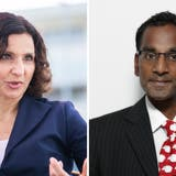 SP-Aargau-Präsidentin und Nationalrätin Gabriela Suter zeigt SVP-Rothrist-Präsident Naveen Hofstetter wegen Rassendiskriminierung an. (Britta Gut/Chris Iseli)