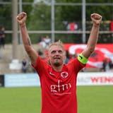 Der FC Iliria und Captain Alban Jahiu können sich freuen: im September kommen die Young Boys. (Patrick Luethy)