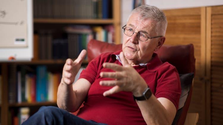 Polizeipsychologe Horst Hablitz hoffte bis zum Schluss, dass er nie pensioniert wird. (Severin Bigler)