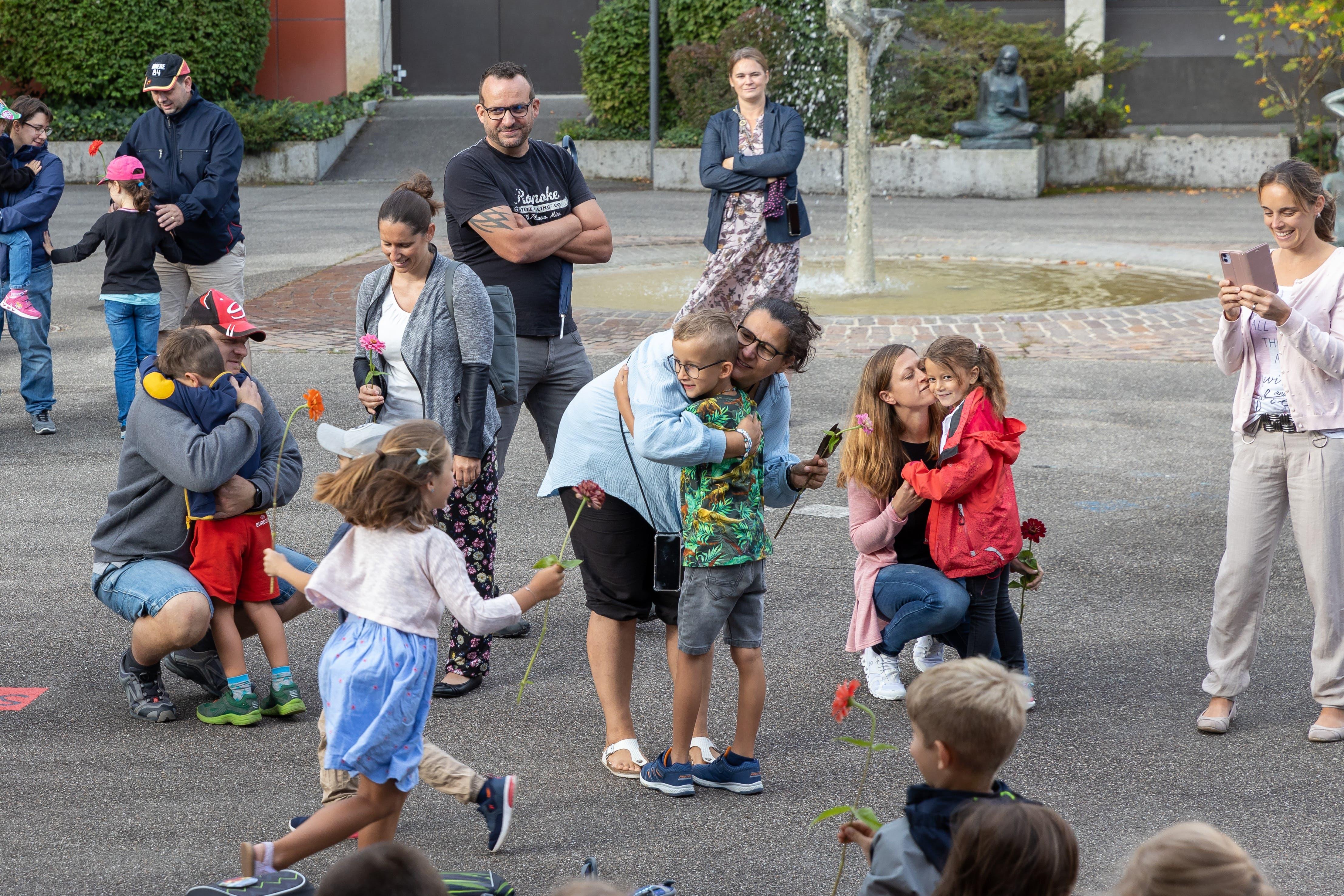 16.08.2021 - Schulbeginn in Gunzgen.
