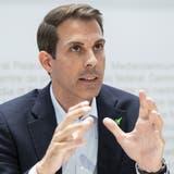 Der Favorit auf das Amt hat seine Kandidatur eingereicht: Thierry Burkart will FDP-Präsident werden. (Keystone)