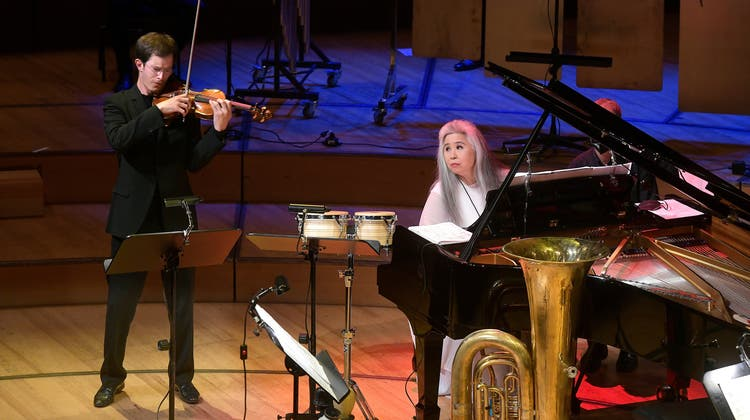Die Solistinnen und Solisten überzeugten. (Bild: Lucerne Festival/Peter Fischli)