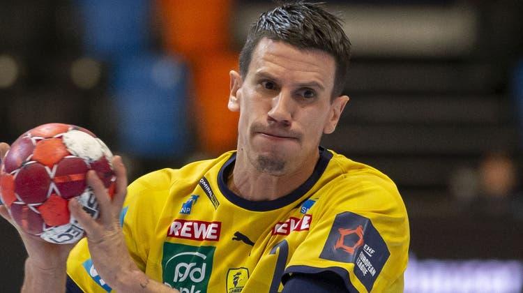 Im Juni ist Schluss: Andy Schmid verlässt nach zwölf Jahren zum Saisonende die Rhein-Neckar Löwen. (Patrick B. Kraemer / KEYSTONE)