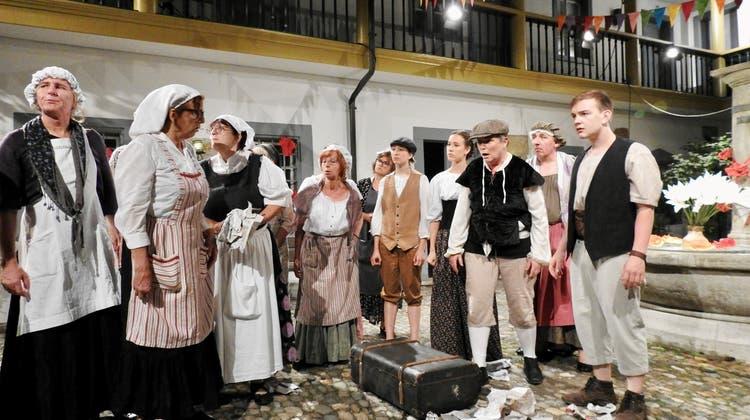 """Laientheater Zurzach """"Campiello"""" Hotel zur Waag (Lovey Wymann / Aargauer Zeitung)"""