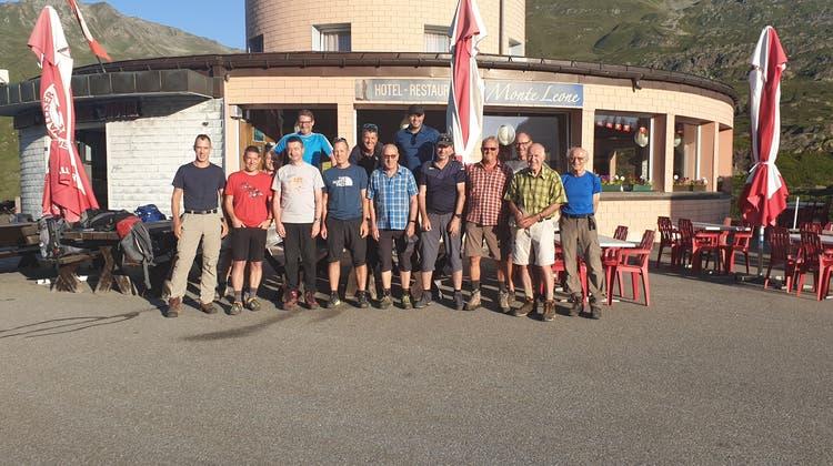 Bergturnfahrt der Männer vom 14. und 15. August 2021 im Simplongebiet