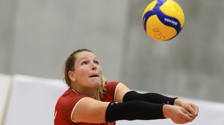 Sarah von Rooij absolviert in Kroatien ihre erste Europameisterschaft. (Anthony Anex / KEYSTONE)