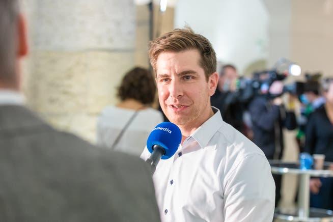 Das Ausmass der Pandemie zeige sich in der Auslastung der Intensivbetten, meint Grünen-Aargau-Präsident Daniel Hölzle.