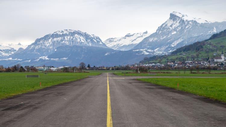 Der Bund hat die Umnutzung des Flugplatzes Buochs genehmigt. (Keystone)