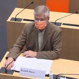 Tanja Stadler stand in der Rolle als Taskforce-Präsidentin erstmals vor den Medien Red und Antwort. (Peter Klaunzer / KEYSTONE)