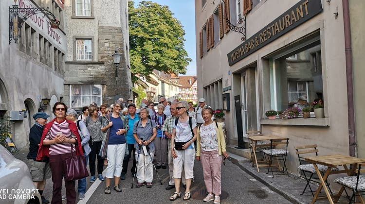 Carausflug Wandergruppe Pro Senectute Schlieren