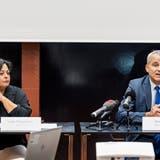 Am Mittwochmorgen präsentierten Leila Straumann, Leiterin der Abteilung für Gleichstellung, (links) und Regierungspräsident Beat Jans das neue Gleichstellungsgesetz. (Kenneth Nars)