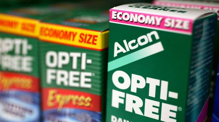 Alcon – einstige Augenheilkunde-Sparte von Novartis – melde zehn Jahre nach der Verselbstständigung Rekordumsätze. (Archiv) (AP)
