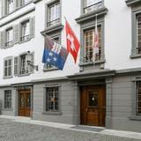 Im Bremgarter Rathaus befindet sich auch das Bezirksgericht Bremgarten. (Sandra Ardizzone (6.6. 2019))