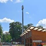 Die alte Mobilfunkantenne an der Gösgerstrasse in Winznau soll durch eine neue ersetzt werden. (Bruno Kissling)