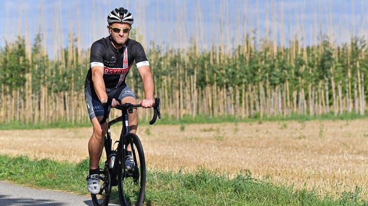 Mit 54 Jahren nimmt Mario Müller zum dritten Mal die Tortour auf sich. (Bruno Kissling/Oltner Tagblatt)