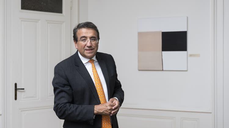 Pascal Broulis, seit bald 20 Jahren Mitglied der Waadtländer Kantonsregierung, wird 2022 nicht erneut kandidieren. (Keystone)