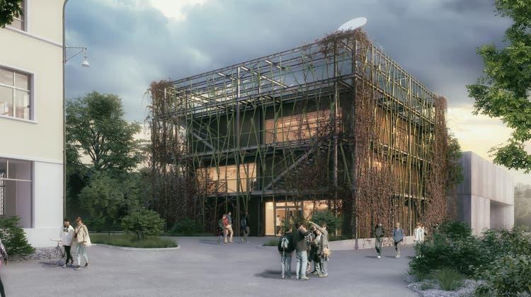 So soll das fertige Museum aussehen. (Zvg/Primeo)