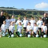 Zwölf Talente aus Appenzeller Fussballvereinen trainierendiese Saison im Stützpunkt Appenzellerland von Future Champs Ostschweiz. (Bild: Mea McGhee)