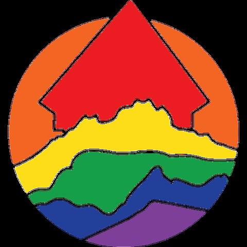 Das Logo des Vereins Pride Zentralschweiz.