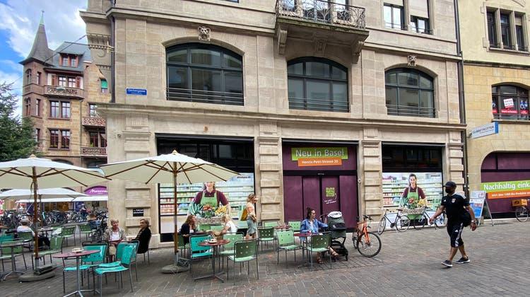 Hier eröffnet Alnatura sein zweites Basler Geschäft. (Ali Ahmeti / bz Zeitung für die Region)