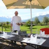 Jim Billet, der Küchenchef und Gastgeber des Restaurants Schlössli Sax. (Bild: Alexandra Gächter)