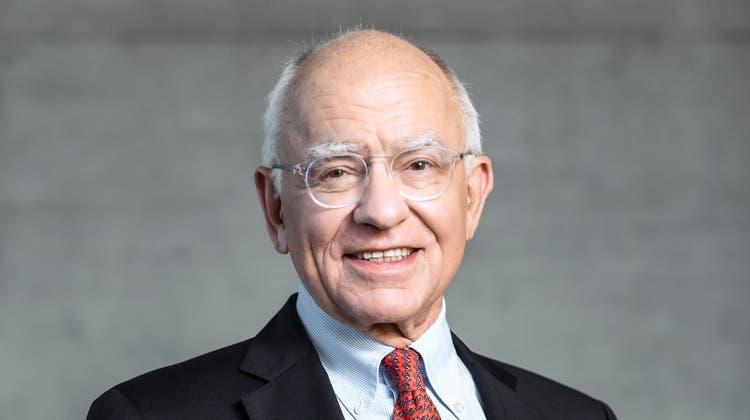 Präsidiert die Artemis Group und lenkt damit auch Firmen wie Franke oder Feintool:Der 75-jährige Schweizer Industriepatron Michael Pieper. (HO)