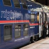 Der derzeit grösste Anbieter von Nachtzügen in Europa sind die ÖBB mit den Nightjet-Zügen. (Bild: Christian Beutler/Keystone)