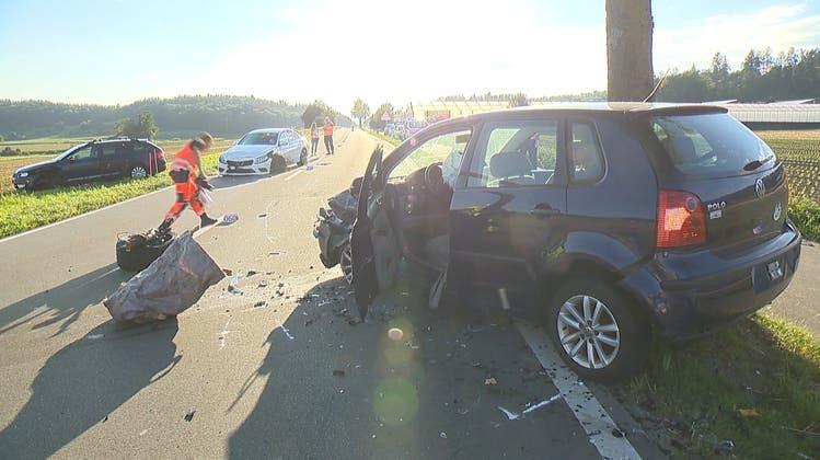 Dieser Unfall sorgte für Chaos im Feierabendverkehr am Mittwoch