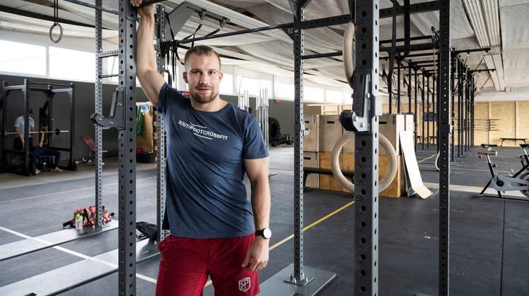 Wird am Sonntag an der Schweizermeisterschaft antreten: Der 27-jährige Pascal Plüss setzt seit mehreren Jahren aufCrossFit. (Alex Spichale)