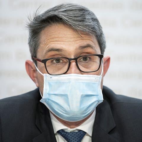 Blickt auf den Herbst: Lukas Engelberger, oberster Gesundheitsdirektor.