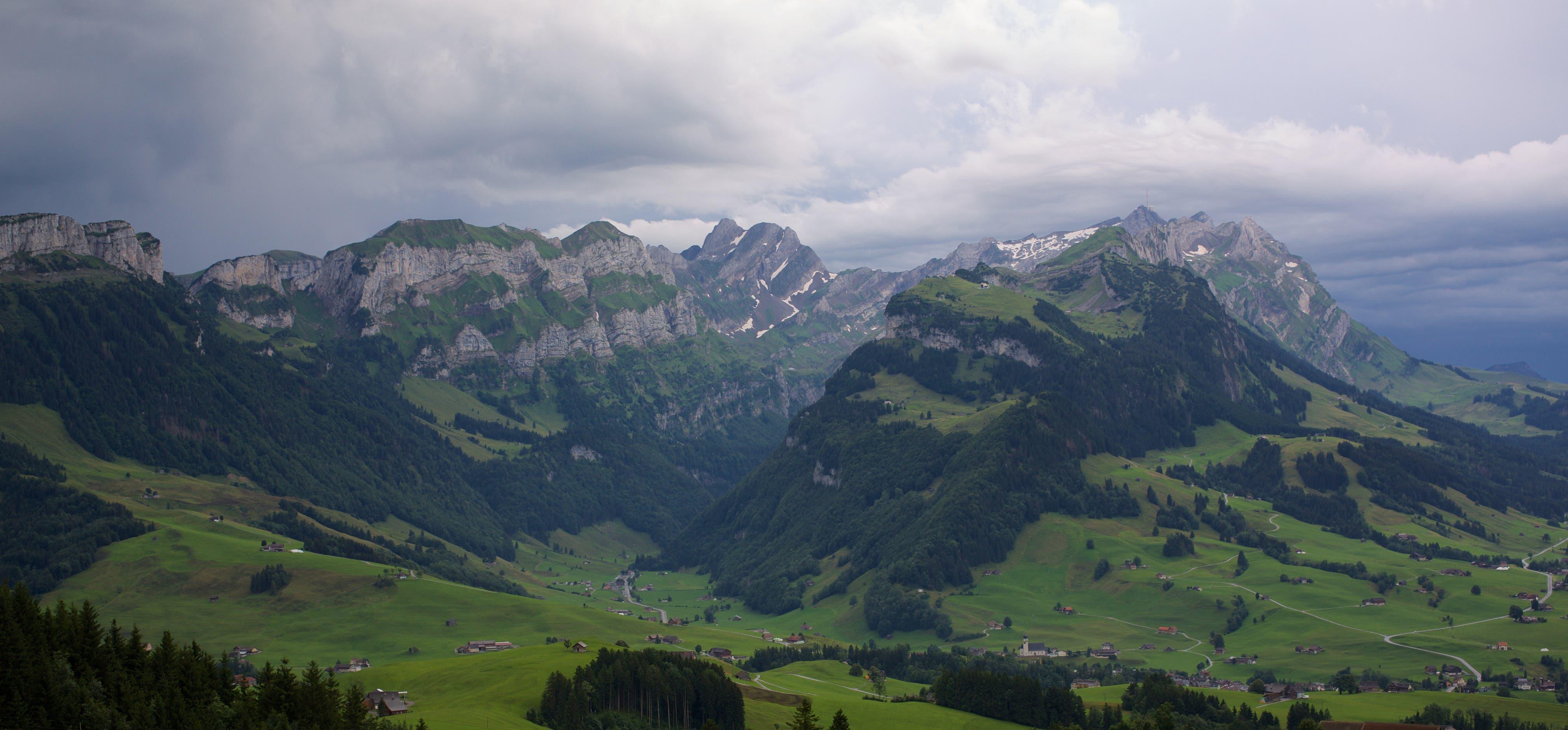 Gewitter im Alpstein.