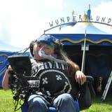 Nadja Weber aus Fischbach-Göslikon ist eines der 60 Kinder, die beim Zirkus Wunderplunder mitmachen. (Nathalie Wolgensinger)