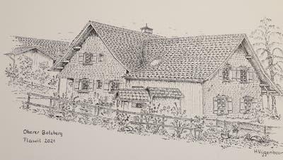 Eine der Zeichnungen von Hans Vijgenboom. (Bild: PD)