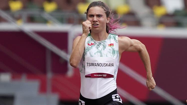 Die belarussische AthletinKristina Timanowskaja soll sich nun in Sicherheit befinden. (Martin Meissner / AP)