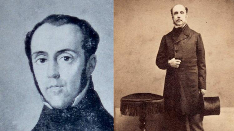 Die beiden Italiener im Schatten von Giuseppe Mazzini